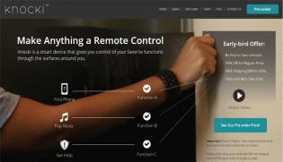 Future Now   Knock To Control Your Smart Home